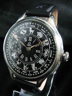 Omega Zodiac Antique 1937 Deco Watch