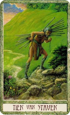 druidcraft tarot ten of wands - Pesquisa Google