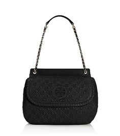Tory Burch Shoulder Bag - Marion Quilted Small   ACCESSORIES ... : tory burch marion quilted saddle bag - Adamdwight.com