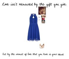 """""""Measured"""" by goldenarrow1001 ❤ liked on Polyvore featuring City Chic, Massimo Matteo, TheBalm, Chanel and plus size dresses"""