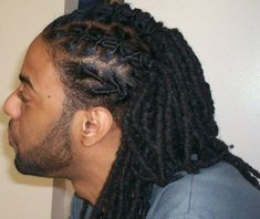 """Dreadlocks also known as locs or dreads are a signature hairstyle of the black culture. They are formed by mattingRead More Dreadlock hairstyles for men"""" Dreadlock Hairstyles For Men, Black Men Hairstyles, Bohemian Hairstyles, Braided Hairstyles, Men's Hairstyles, African Hairstyles, Mens Dreadlock Styles, Dreads Styles, Curly Hair Styles"""