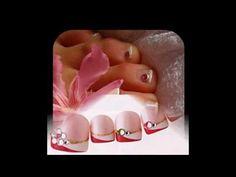 Uñas decoradas ideas para los dedos del pie faciles y bonitas - YouTube Manicure Y Pedicure, Convenience Store, Youtube, Ideas, Toe, Professional Nails, French Nails, Nail Techniques, Pedicures