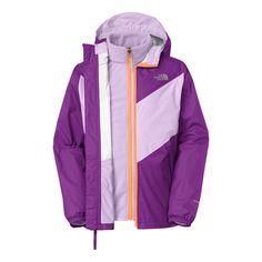 9606da2694f41 The North Face Girls' Anura Rain Triclimate Jacket Triclimate Jacket, Ski  Girl, Girls
