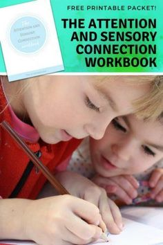 Have you ever wondered how attention is related to sensory processing? Check out this FREE Attention and Connection Sensory Workbook for help. Activities For 2 Year Olds, Autism Activities, Autism Resources, Motor Activities, Sensory Activities, Counseling Activities, Classroom Resources, Learning Resources, Sensory Diet