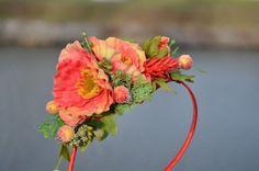 Šípková víla - čelenka Floral Wreath, Wreaths, Jewelry, Decor, Floral Crown, Jewlery, Decoration, Door Wreaths, Jewerly