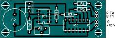 PCB 12V to 220V Inverter Schematics