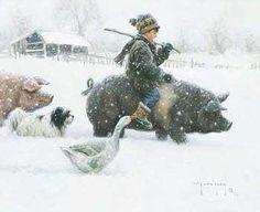 'Piggyback' Love Robert Duncans work