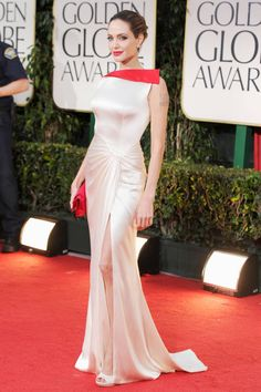 Angelina Jolie's Best Looks - Celebrity Red Carpet Fashion - Elle
