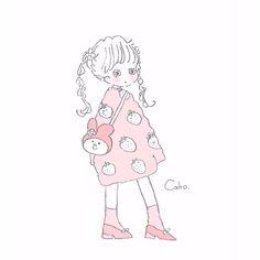 Art And Illustration, Illustrations, Pretty Art, Cute Art, Cute Kawaii Drawings, Aesthetic Drawing, Manga Drawing, Anime Style, Doodle Art