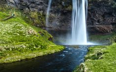 Photo The End Of The Waterfall by Lillian Molstad Andresen on 500px