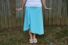 Breezy Summer Skirt Tutorial
