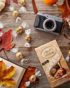 """Lindt Chocolate Canada on Instagram: """"Unwrap a new fall favourite: LINDOR Fudge Swirl Chocolate Truffles! 🍁 A cool, crisp breeze. Your favourite sweater. Leaves swirling in the…"""" Swiss Chocolate, Lindt Chocolate, Chocolate Shells, Chocolate Truffles, Melting Moments, Lindt Lindor, Alcohol Free, Fudge, Delicate"""
