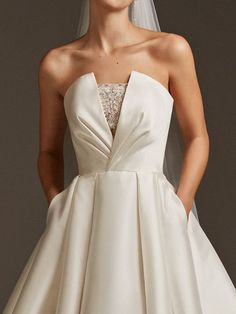Pronovias Phoebe Wedding Dress, Off White Off White Wedding Dresses, Wedding Dresses Plus Size, Bridal Dresses, Dresses For Sale, Wedding Gowns, Flower Girl Dresses, Pronovias Wedding Dresses, Bridesmaids And Mother Of The Bride, Wedding Dress Patterns