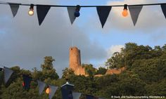 Windeck castle ruins--Weinheim, Germany