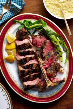 Curtis Stone's Recipe for Grilled Porterhouse With Creamed Corn