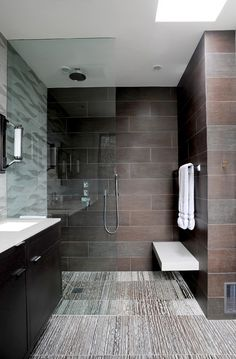 Bad Inspiration, Bathroom Inspiration, Bathroom Ideas, Shower Ideas, Shower Bathroom, Spa Shower, Bathroom Organization, Bathroom Signs, Bathroom Colors
