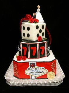 las vegas wedding cake - Google Search