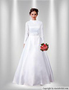 Wedding Dresses Modest On Pinterest Modest Wedding Dresses Muslim And Bl