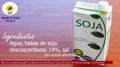 Leche dieta Dukan ataque: leche de soja muy baja en hidratos. En Eroski y Mercadona