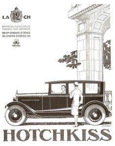 1926 Hotchkiss car ad