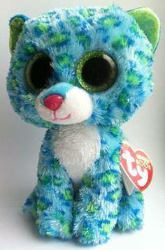 680b1588ca8 New blue cheetah Leona All Beanie Boos