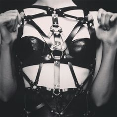 black, black and white, and bdsm image