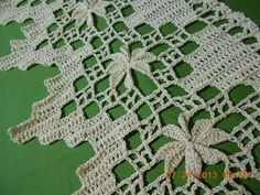 Filet Crochet, Crochet Borders, Crochet Stitches Patterns, Crochet Squares, Irish Crochet, Crochet Designs, Diy Crochet Gifts, Crochet Home, Crochet Coaster Pattern