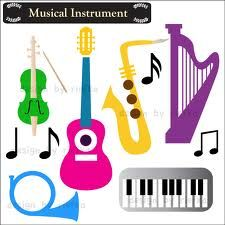 graphic design instruments musical instruments and music theory rh pinterest com music instrument clipart instruments clipart