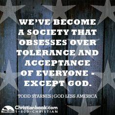 Todd Starnes, God Less America