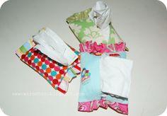 Sew Retro Chic!: Tutorial - Ruffled Tissue Holder