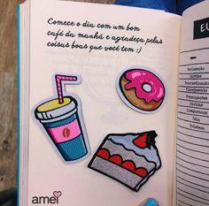 Café para todas as horas🍰❤️🍩 #lojaamei #patch #muitoamor #novidades #doces #café #bolo #shake #donuts