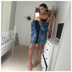 Dress & jacket - @zara  Shoes - @egoofficial