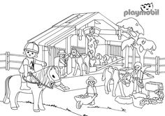 ausmalbilder playmobil kinderzimmer | ausmalbilder