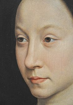 Memling - Maria Portinari, detail  by petrus.agricola, via Flickr