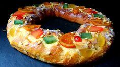 Roscón de Reyes. Receta de Navidad para preparar en casa el típioc roscón de Reyes. Un dulce con levadura y frutas confitadas que queda delicioso.
