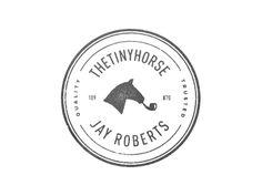 thetinyhorse seal #logo #design #inspiration