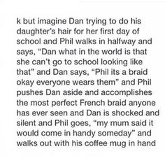 "Aw! "" My mum said it'll come in handy one day "" That's so cute! #AmazingPhilisAmazing"