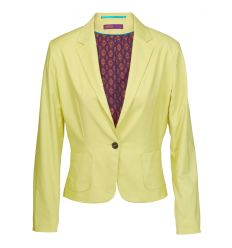 LADIES LIME RETRO Double Breasted Coat