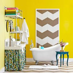 We have over one hundred bathroom ideas for updating and remodeling: http://www.bhg.com/bathroom/?socsrc=bhgpin02062014bathroom