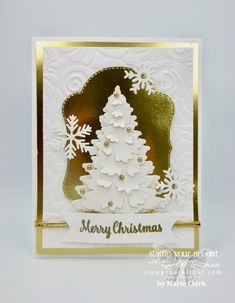 53 ideas holiday cards ideas creative for 2019 Christmas Cards 2018, Homemade Christmas Cards, Stampin Up Christmas, Noel Christmas, Xmas Cards, Homemade Cards, Handmade Christmas, Holiday Cards, Christmas Crafts