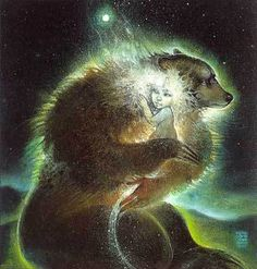 """bear woman and the dream child""   susan seddon boulet"