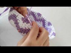 Penye ipten sırt çantası yapımı (Ribbon ipten çanta yapımı) -3 - YouTube