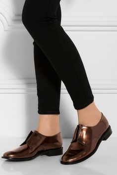 BROWN Jam Slip On Brogues