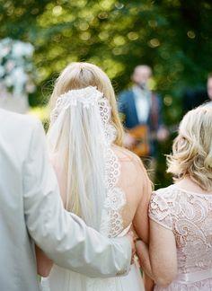 Gilkinson Farm Wedding by Bella Grace Studios - Southern Weddings Farm Wedding, Wedding Make Up, Dream Wedding, Wedding Day, Half Up Half Down Hair, Lace Veils, Fantasy Wedding, Southern Weddings, Braid Styles