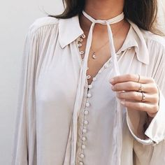 The more buttons, the better! Loving how @songofstyle styled this @freepeople top - available on ShopStyle! // Follow @ShopStyle on Instagram to shop this look
