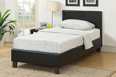 3ft Single Birlea Berlin Bed in Black