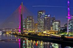 Home. I love this city. Sao Paulo, Brazil during breast cancer awareness month