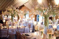 décoration de mariage d'hiver : idées pour la table