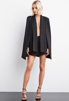 Rise of Dawn The Runaway Drape Cape | Forever 21 - 2000146133