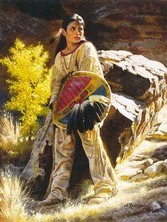 art alfredo rodriguez - Page 2 Native American Children, Native American Beauty, American Indian Art, Native American History, American Indians, Western Comics, Western Art, Native American Paintings, Native American Artists